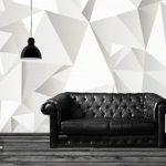 Stickers muraux forme geometrique