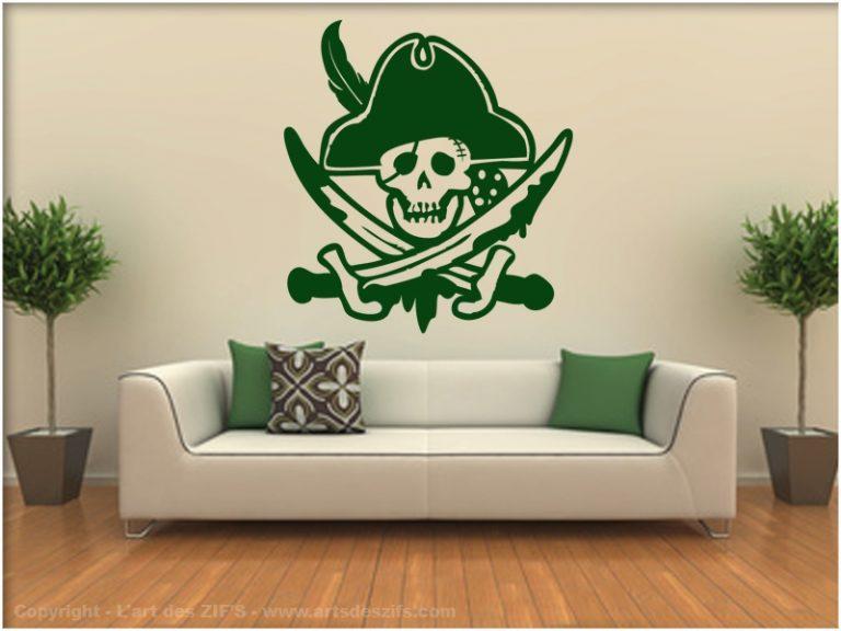 photo deco stickers pirate