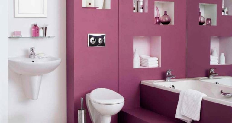 photo idee deco wc stickers