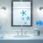 Deco sticker salle de bain