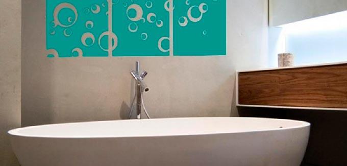 photo deco sticker salle de bain