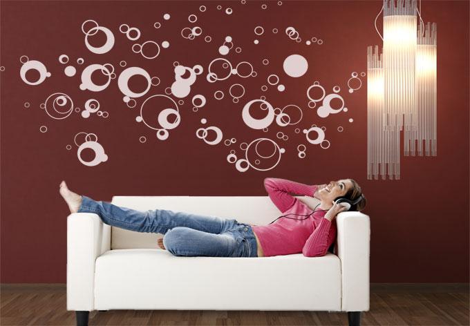 photo stickers muraux wall art