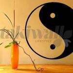 Stickers muraux ying yang