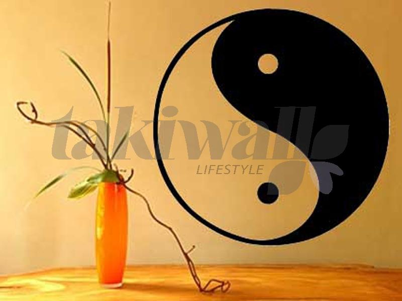 Id e stickers muraux ying yang for Deco ying yang