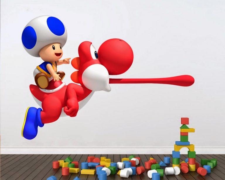 photo stickers muraux jeux vidéo
