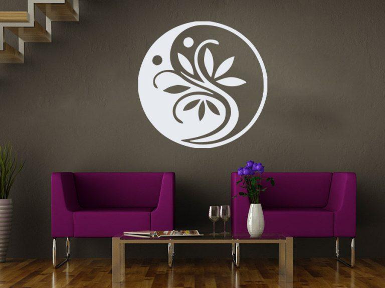 photo stickers muraux ying yang