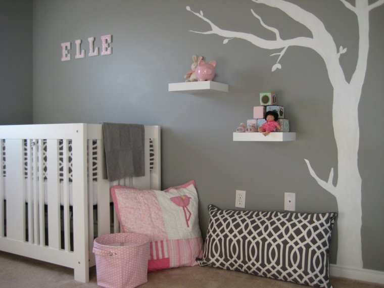 photo deco stickers chambre fille