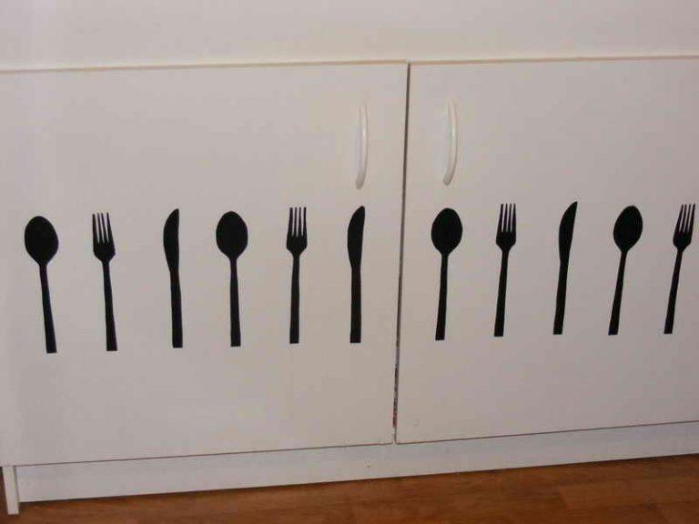 photo deco stickers cuisine