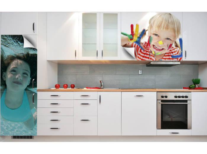 photo deco sticker pour cuisine