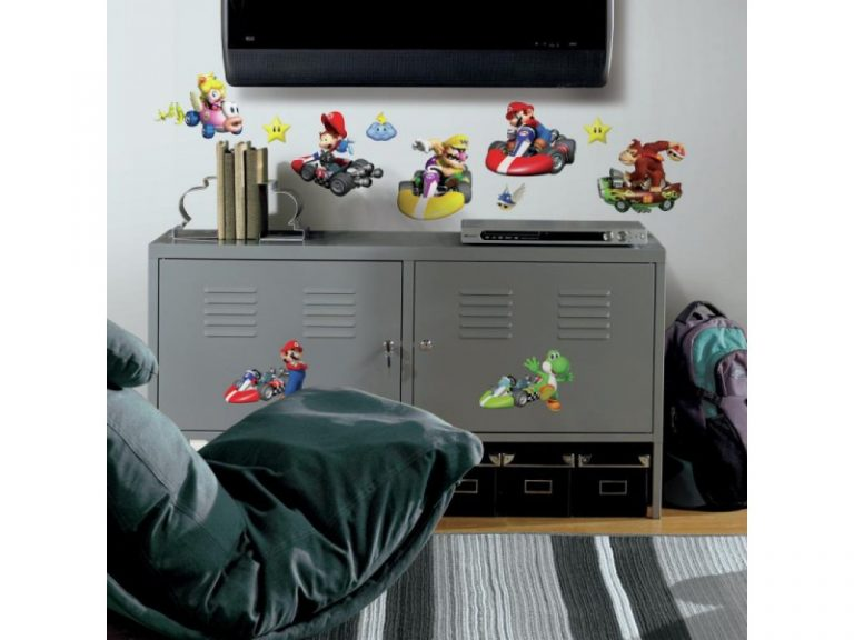 photo stickers muraux nintendo
