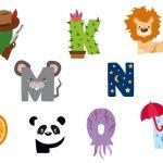 Stickers muraux alphabet