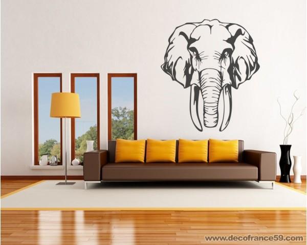 photo stickers muraux elephant