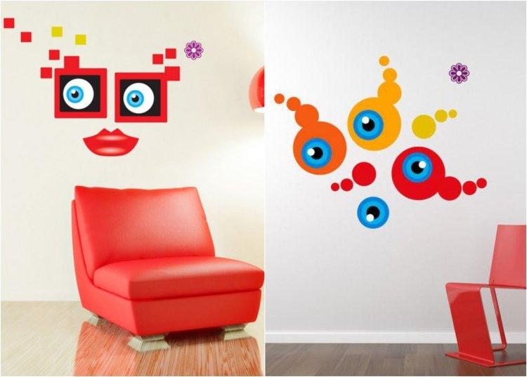 photo stickers muraux graffiti