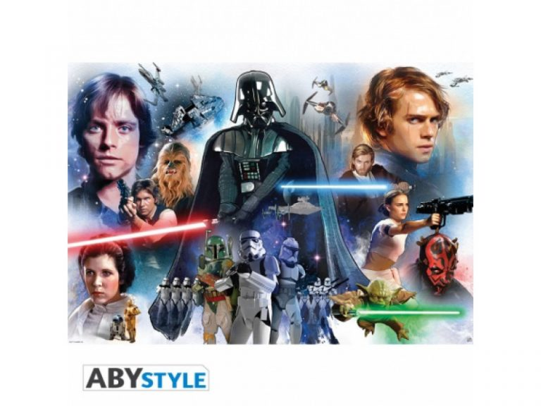photo stickers muraux geant star wars