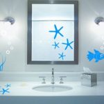 Stickers deco douche