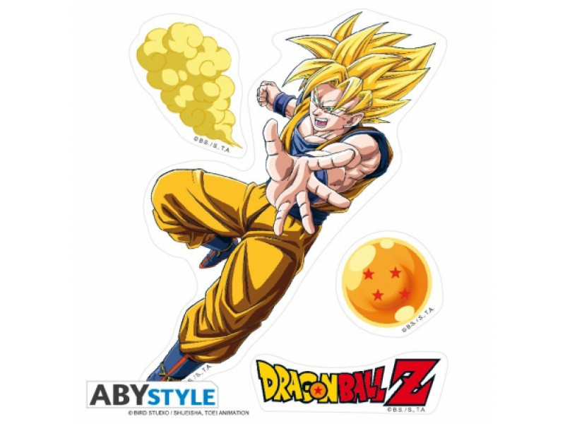 Stickers muraux dragon ball