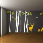Stickers muraux foret