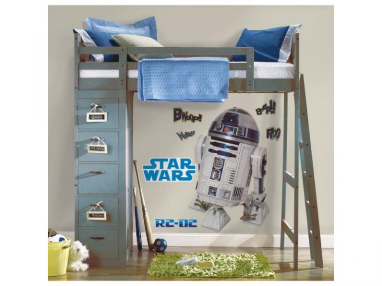 photo stickers muraux geant star wars