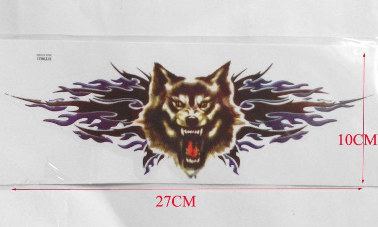 photo stickers muraux loup