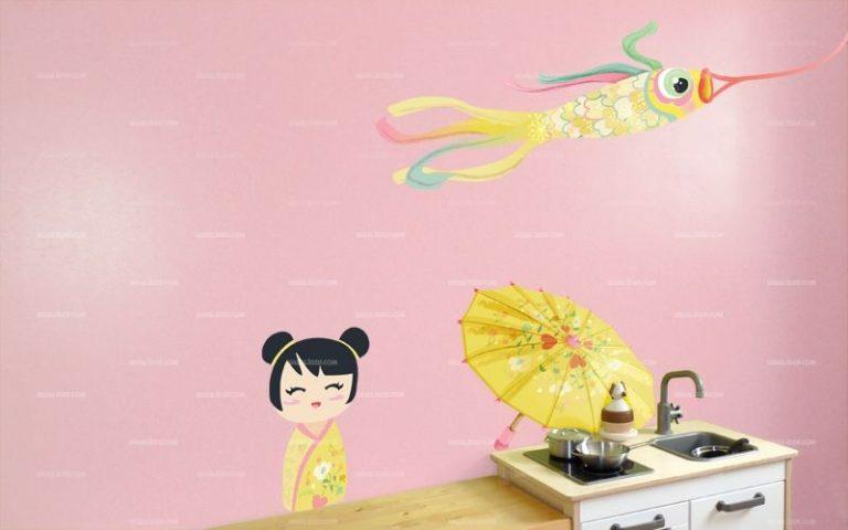 photo stickers deco japonaise