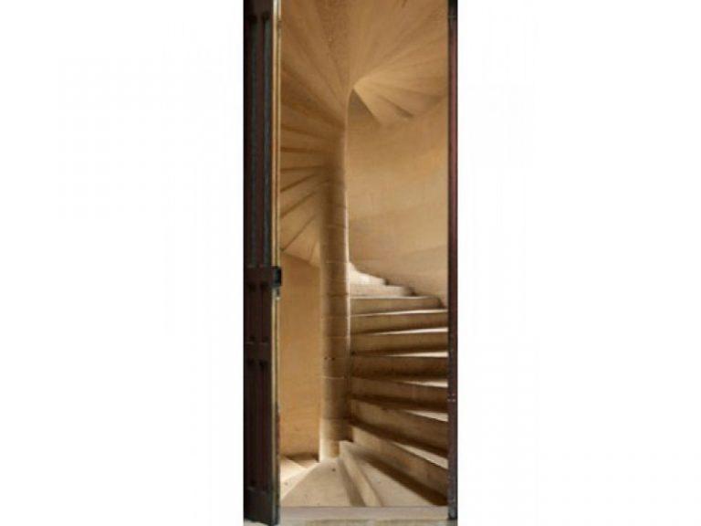 photo stickers muraux escalier