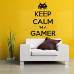 Stickers muraux gamer