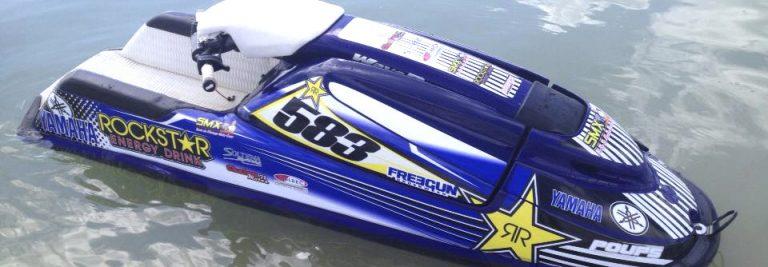 photo deco stickers jet ski