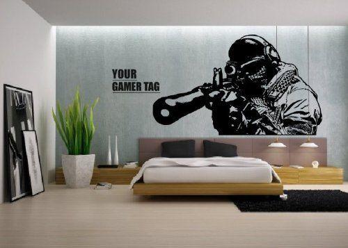 photo stickers muraux gamer