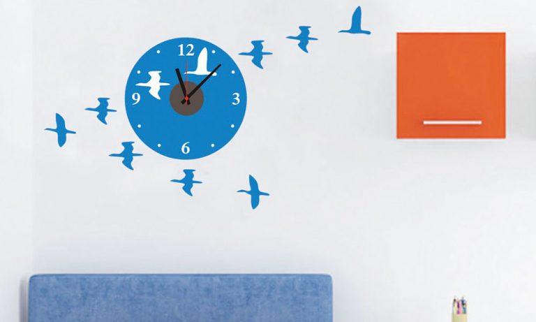 photo stickers deco oiseaux