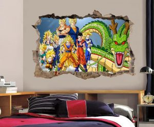Stickers muraux dragons 2