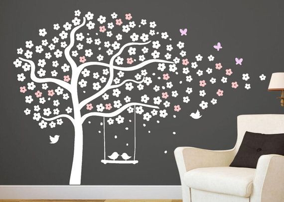 photo stickers muraux d'arbre