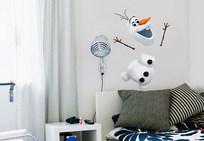 photo stickers muraux reine des neiges