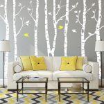 Stickers muraux d'arbre