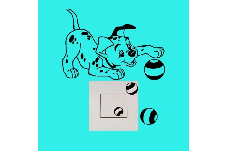 photo stickers muraux 101 dalmatiens