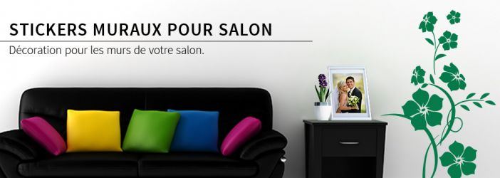 photo stickers muraux salon