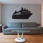 Sticker deco bateau