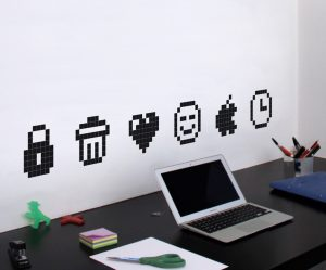 Sticker deco ordinateur
