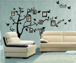 Stickers muraux arbre