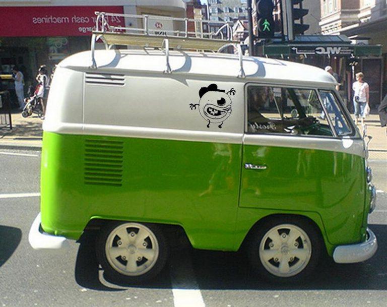 photo stickers muraux volkswagen
