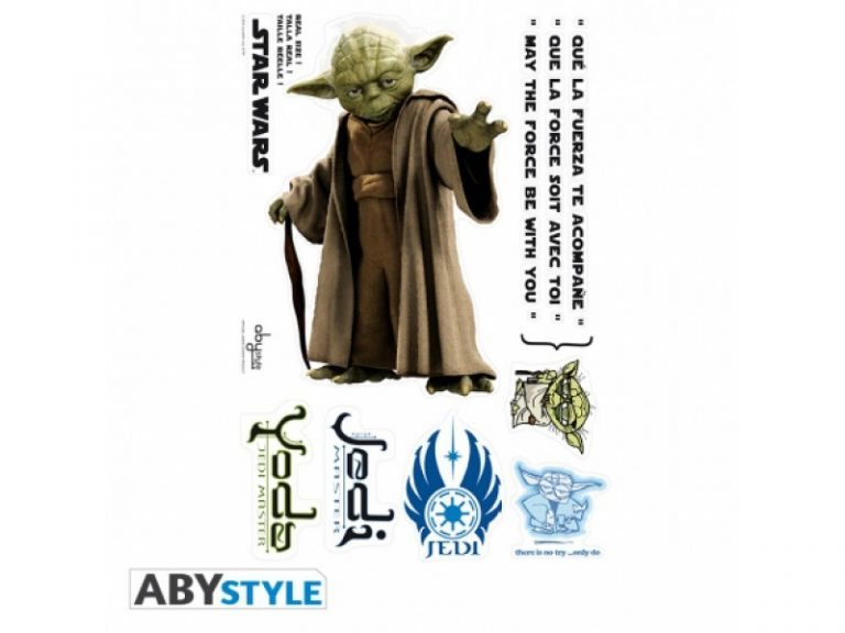 photo stickers muraux yoda