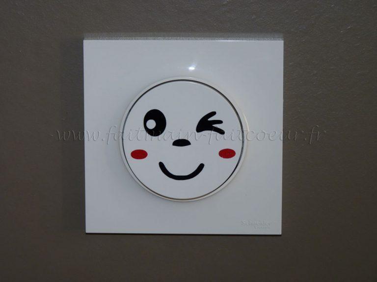 photo sticker deco interrupteur