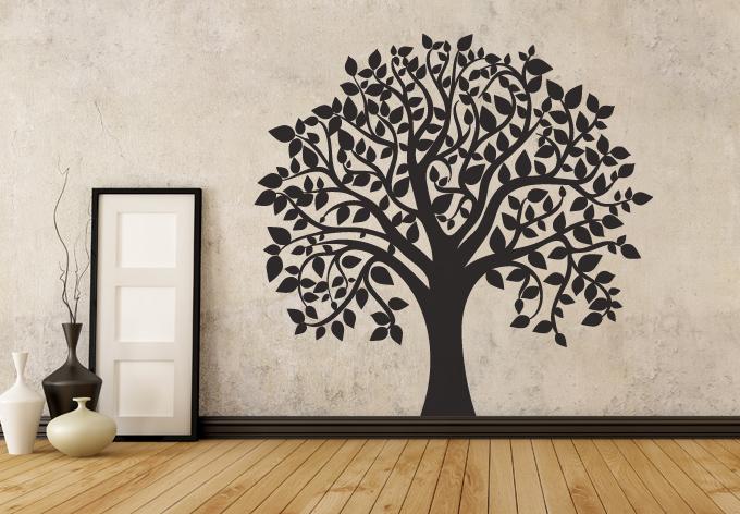 photo stickers muraux arbre