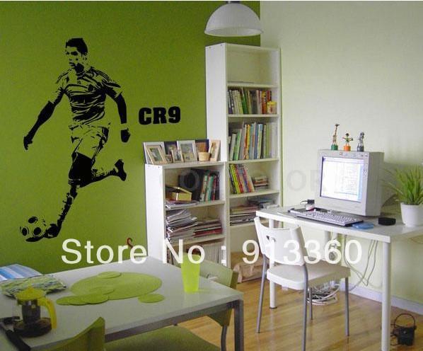photo stickers muraux ronaldo