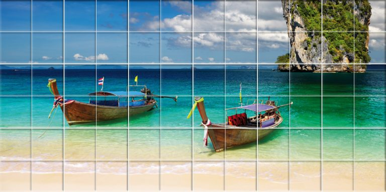 photo sticker deco bateau