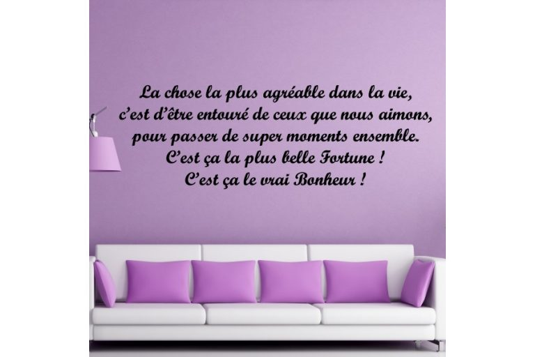 photo stickers muraux texte