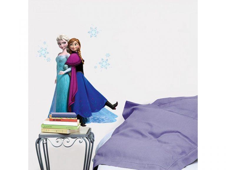 photo sticker deco reine des neiges