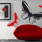Deco stickers papillon