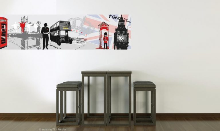 photo deco stickers londres