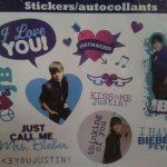Stickers muraux justin bieber