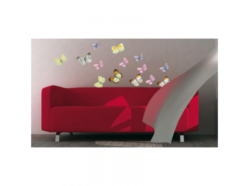 Deco stickers papillon